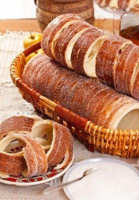 "Kürtös Kalács (Hungarian Caramelized Cinnamon ""Chimney Cakes"" )"