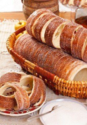 "Kürtös Kalács (Hungarian Caramelized Cinnamon ""Chimney Cakes"" )"
