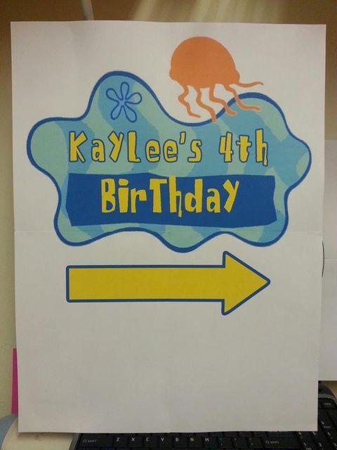 "Photo 1 of 25: Birthday ""Spongebob Squarepants"" | Catch My Party"