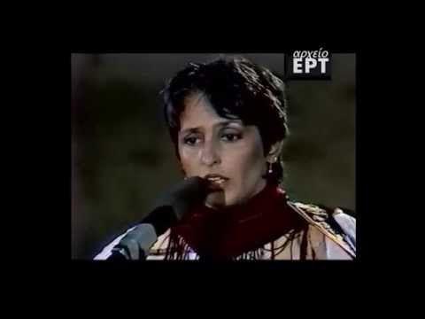 Joan Baez/The Ballad of Mauthausen/Mikis Theodorakis - YouTube