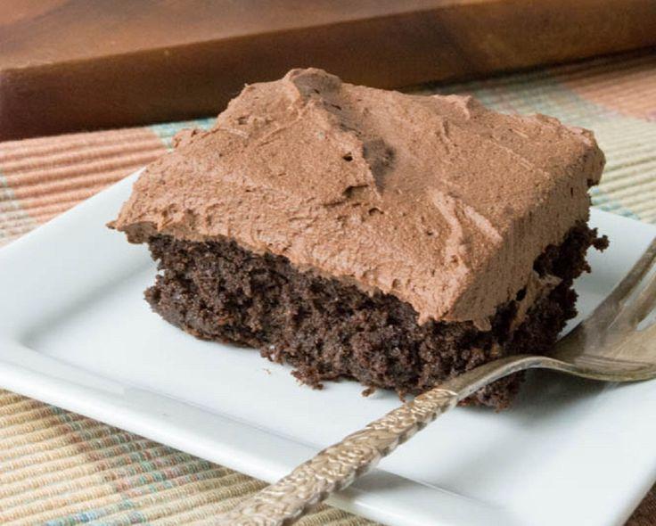 Low Carb Rezepte: Low Carb Schokoladen Kuchen (zucker frei, gluten frei, ohne eier, ohne nüsse)
