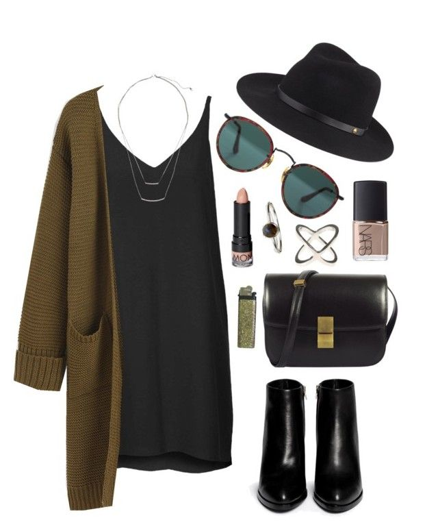 """""""Untitled #250"""" by clary94 on Polyvore featuring Alexander Wang, Topshop, rag & bone, CÉLINE, NARS Cosmetics, Accessorize, Ray-Ban, Monki and H&M"""