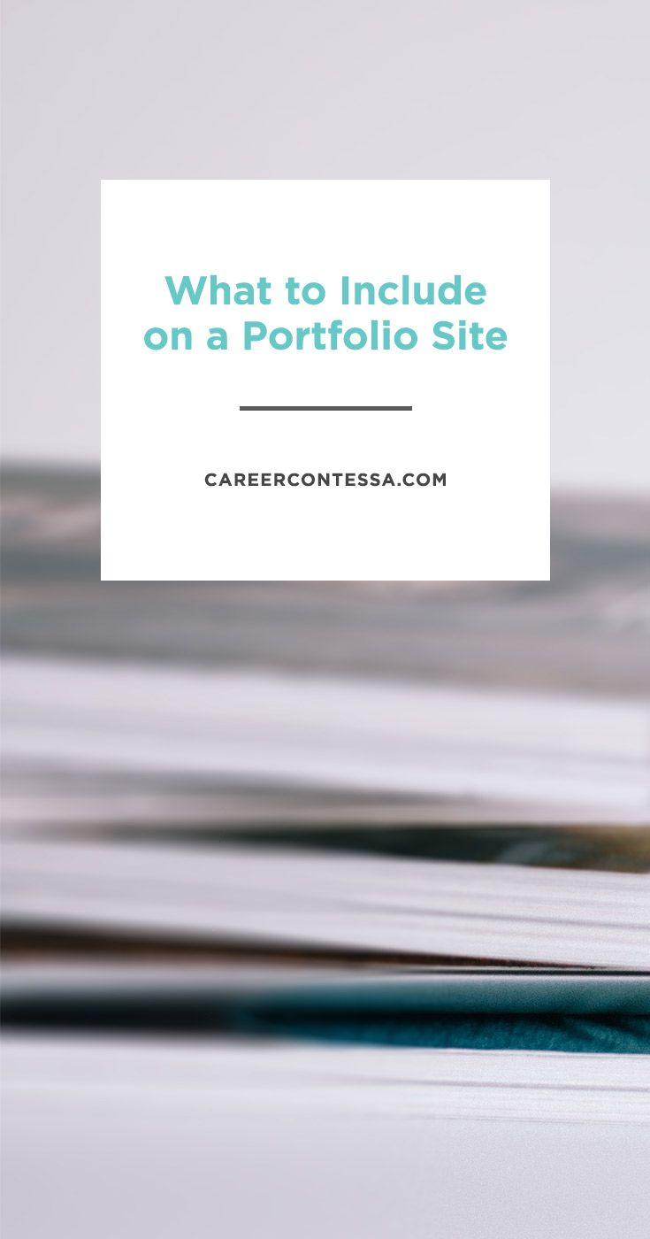 Want a portfolio website but not sure