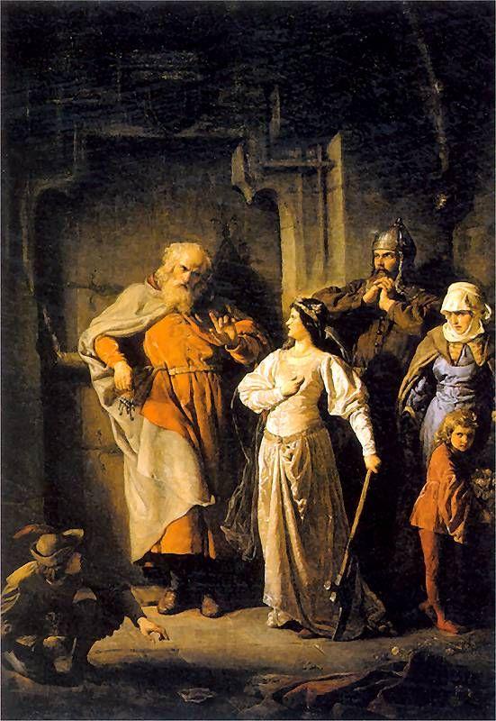 Queen Jadwiga and Dymitr (Królowa Jadwiga i Dymitr z Goraja) - Wojciech Gerson