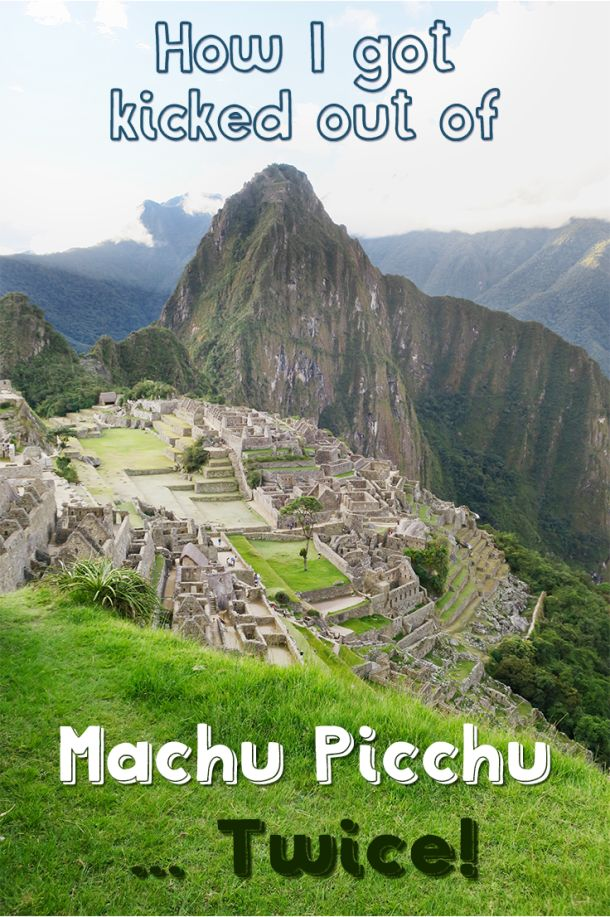 This is my story about my visit to Machu Picchu Peru. How I got kicked out of Machu Picchu twice in 1 weekend and how I cried the first time I saw the ruins of Machu Picchu.