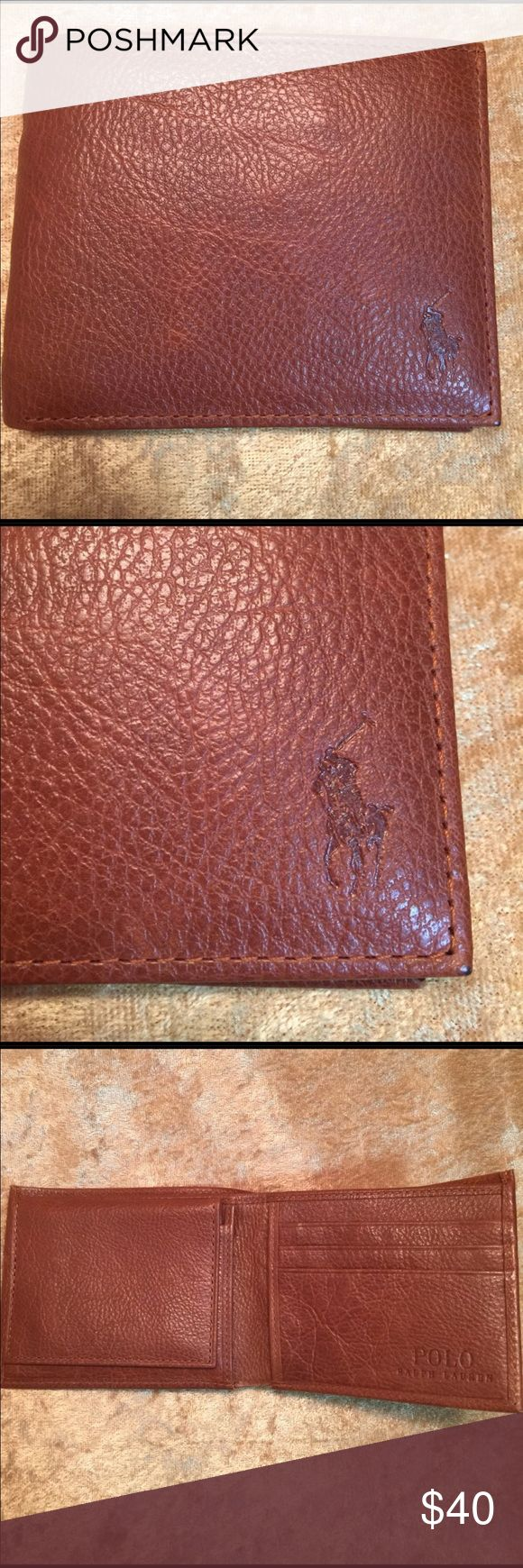Men's Polo Billfold New with tag do not have original box but will include a gift box Polo by Ralph Lauren Bags Wallets