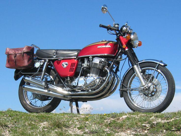 1974 Honda Cb750 Blue