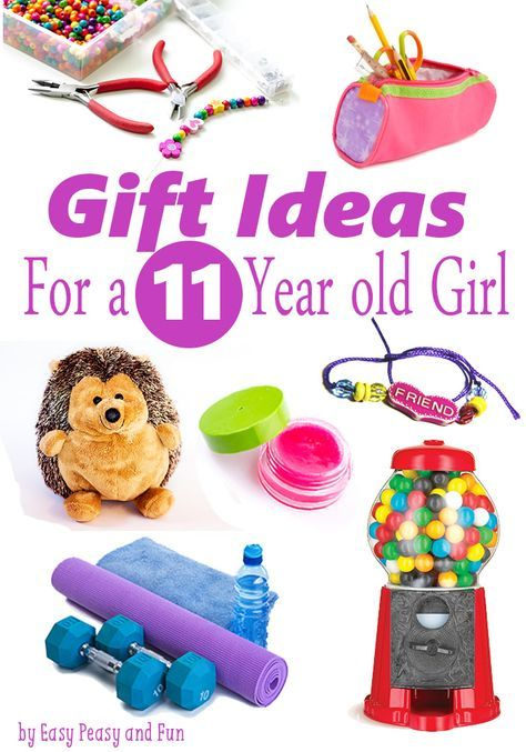 Best Gifts for a 11 Year Old Girl - Easy Peasy and Fun - Best Gifts For A 11 Year Old Girl Gift Guide: Age 11 Gifts, Girl