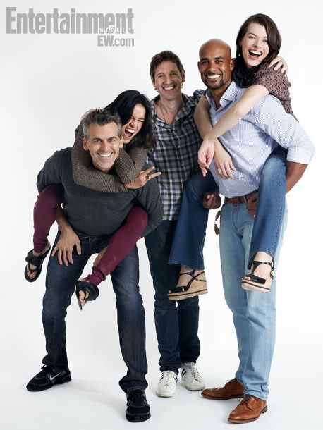 The cast of Resident Evil: Retribution