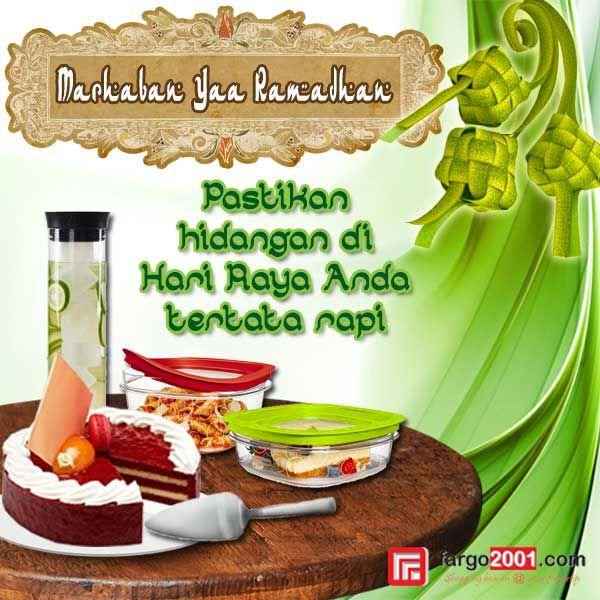 Pastikan hidangan di Hari Raya Anda tertata rapi dan terlihat cantik dengan peralatan rumah tangga dari fargo2001.com ! http://fargo2001.com/housewares-315/