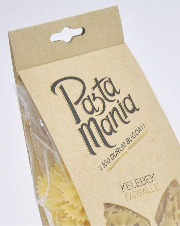 Pastamania makarna by Serkant Çopur, via Behance