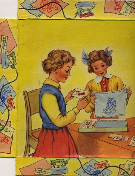 Vintage DIY game box
