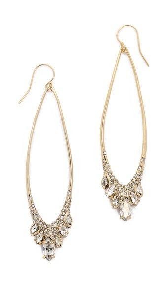 Alexis Bittar Jagged Marquis Teardrop Earrings | SHOPBOP