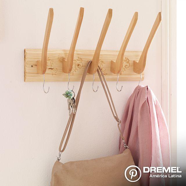 Pueden realizar un perchero personalizado con sus propios diseños, en simples pasos!!