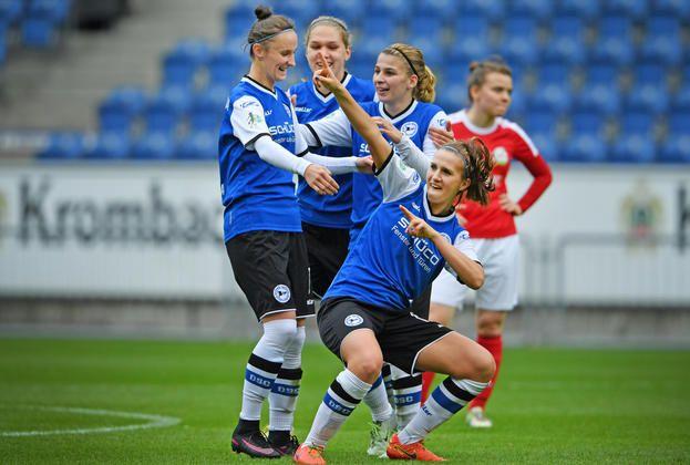 0:1-Rückstand wirkt wie ein Weckruf +++  DFB-Pokal: Arminias Frauen nach 6:2-Sieg über FSV Gütersloh in 3. Runde