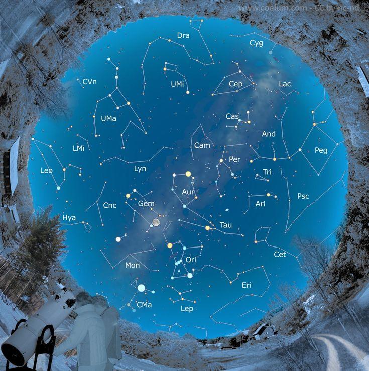 Dicembre 2016. Cominciamo a programmare le serate di dicembre? Ecco il #cielodelmese.  Al link le #effemeridi, le cartine, i consigli sia per esperti sia per chi vuole muovere i primi passi nell'osservazione del cielo! #astronomiapertutti E questo mese una #Guida Speciale ai Gioielli del Cielo Invernale! #astronomia #costellazioni #comete #asteroidi #stelle #deepsky #astrofotografia #fotografia #Luna #Venere