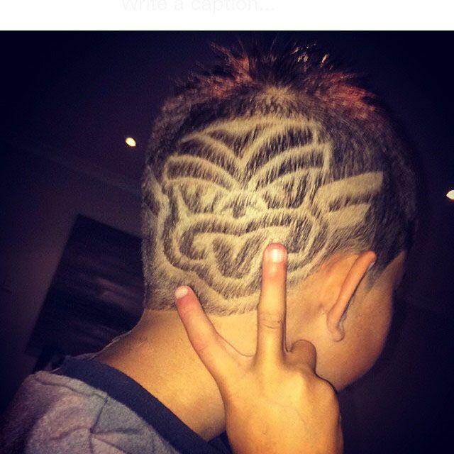 Vodafone Warriors inspired style #WarriorsForever #Warriors #hairstyle #Haircut #Tiki