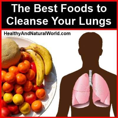 Natural Remedies To Cleanse The Lungs