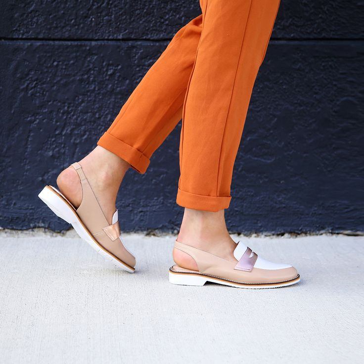 It's all about colours with the Miss Sofie 'Belfast' slingback shoes. Smart, sophisticated and slightly sassy, these beige/white/rose gold beauties will amplify your aesthetic x1000.   Buy now at $189.99 or wear now and pay later with 6 payments of $31.66 with Laybuy. Shop: https://www.shoeconnection.co.nz/womens/shoes/flats/miss-sofie-belfast-leather-sling-back-shoe?c=Beige%20Rose%20Gold