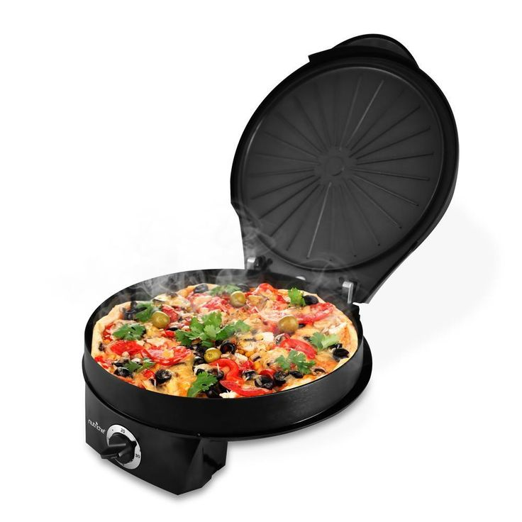 Pyle NutriChef PKPZM12 Electric Pizza Maker/Pizza Oven