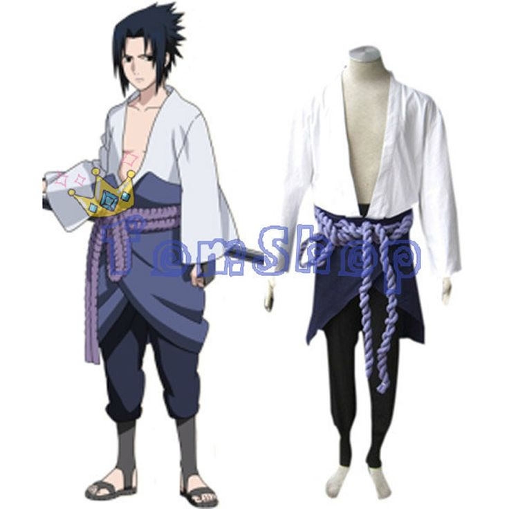 Japanese Anime Naruto Shippuuden Uchiha Sasuke 3rd Cosplay Uniform Suit Men's Halloween Costumes Free Shipping #Affiliate