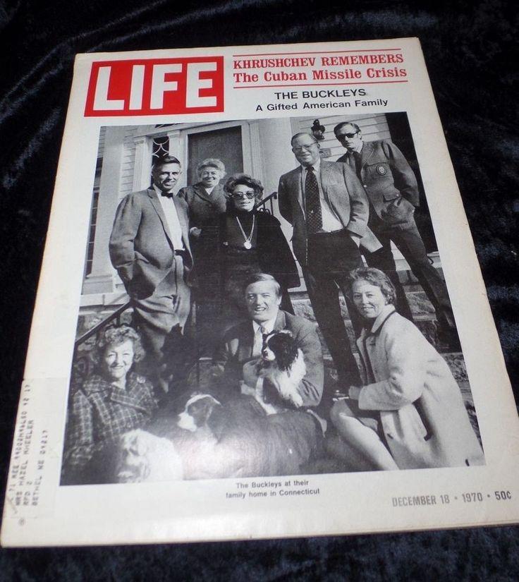 1970 Life Magazine December Khrushchev Remembers The Cuban Missle Crisis