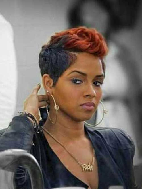 25 unique short black hairstyles ideas on pinterest black 15 pixie haircut for black women pixie cut 2015 pmusecretfo Gallery