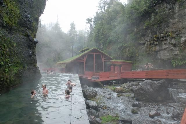 hot springs in Chile. Awesome!
