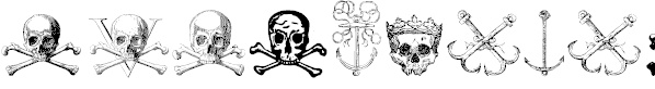 Pirate Fonts & Images Here(4 TROY)