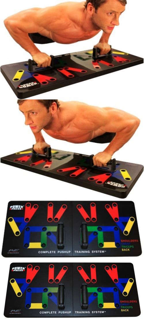 Push Up Stands 158925: Push Up Training Board System Workout Gym Exercises Color Coded Arm Muscles Fit -> BUY IT NOW ONLY: $62.76 on eBay!