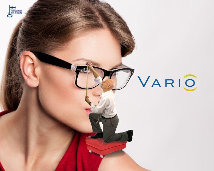 Suunnittelemme Vario mittatilausmoniteholinssit yhdessä asiakkaan kanssa. Jokainen pari on räätälöity valittuihin silmälasikehyksiin käyttäjänsä yksilölliset näkötarpeet, työ ja harrastukset huomioiden.