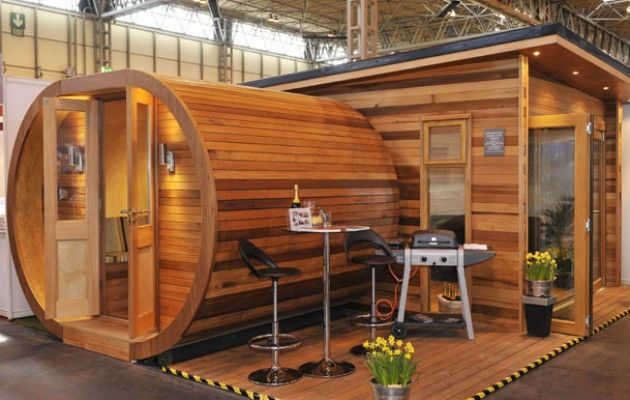 MyPod goes down a storm at Home Building & Renovating Show - Contemporary Garden Rooms - Garden Room, Garden Office, Garden Studio, Garden Gym, Garden Pod, Garden Annex, Outdoor Room, Insulated Garden Building and School Classroom