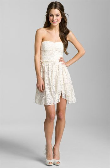 Jill Stuart Sweetheart Lace Dress available at #Nordstrom