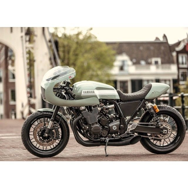 Seeing this @yamaha_yard_built XJ1300 Cafe Racer by @numbnutmotorcycles makes us really wonder why they aren't stateside.  #croig #caferacersofinstagram