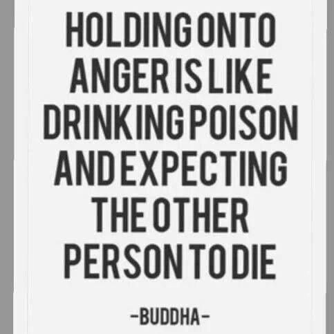 Buddha. Buddha. Says good philosophy. But sometimes  People dont even realize they are holding a resentment