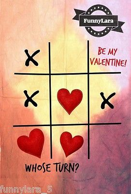 Valentines-Day-Game-Over-Handmade-Greeting-Card-For-Her-Him-Friend-by-FunnyLara