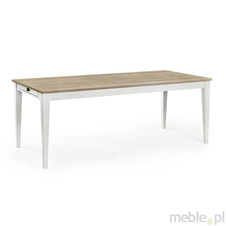 Stół z szufladami i dębowym blatem - Terni, Sedia - Meble