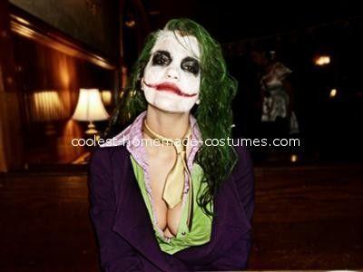costume idea male halloween costumesfemale costumeshalloween ideasjoker - Joker Halloween Costume For Females