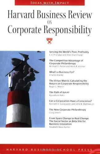 21 best reading list csr images on pinterest book lists harvard business review on corporate responsibility harvard business review paperback series by harvard business fandeluxe Image collections