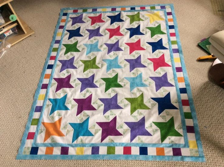 Seth's reversable quilt top