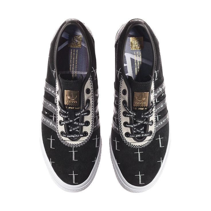 adidas originals x A$AP Ferg Adi-Ease Trap Lord Collection Sneakers Black