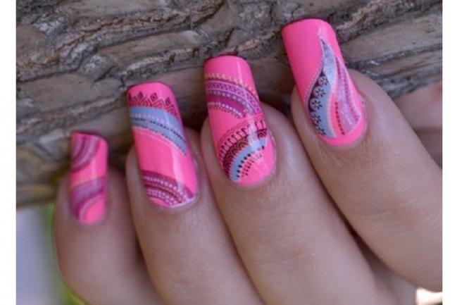 Los 7 mejores nail art en ROSA - IMujer