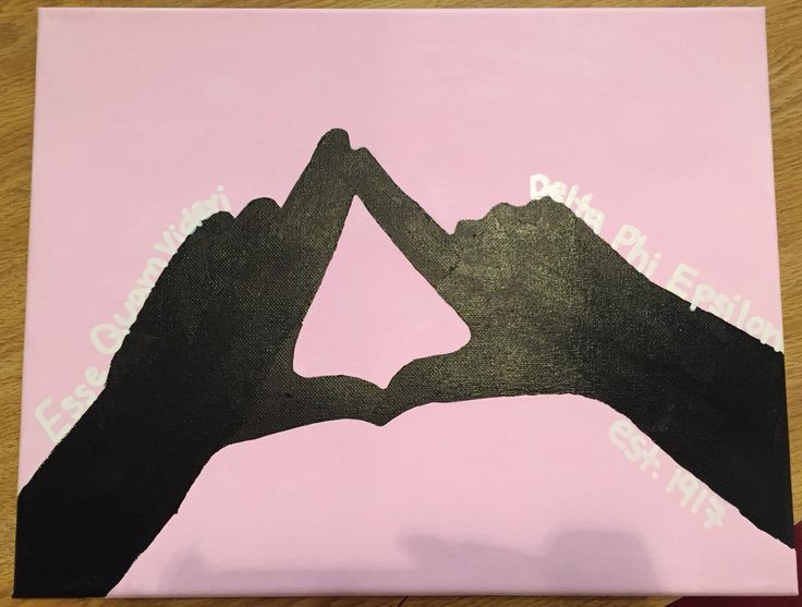 throw what you know canvas delta phi epsilon