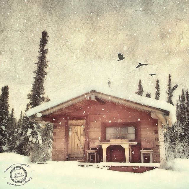 Winter scene  Nikon D800 and photoshop.  #canada #thecanadiancollective #visitDawson #snow #oh_canada #dawsoncity #yukon #cabin #canada #canadathenorth #travel_the_north #at_diff #artsyheaven #ig_artistry #illustrious_art #everything_imaginable #tv_editz