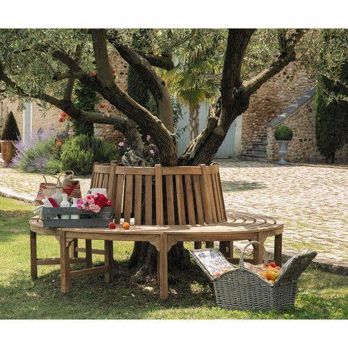 Les 103 meilleures images propos de au jardin mobilier sur pinterest m taux salon en - Mobilier jardin teck massif pau ...