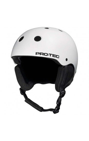Pro-Tec Classic Snow Helmet Matte White