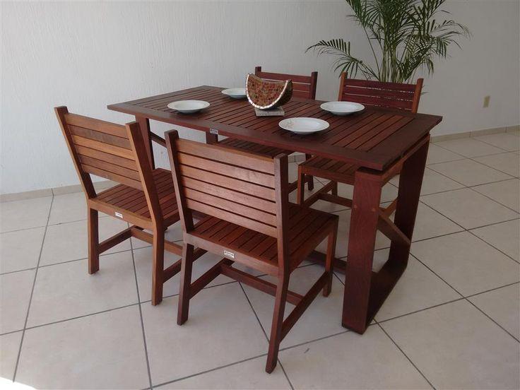 M s de 25 ideas incre bles sobre muebles para exterior en - Muebles exterior madera ...