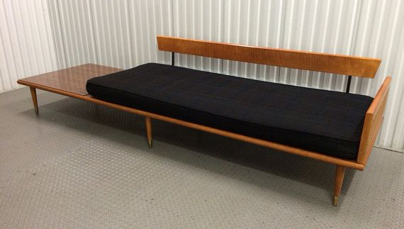 mid century daybed in the style of George Nelson