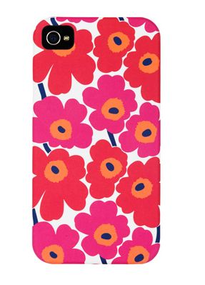 Floral Marimekko iPhone case