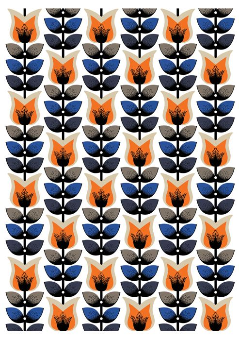 We love this Nadia Taylor print, reminds us of lovely scandinavian style